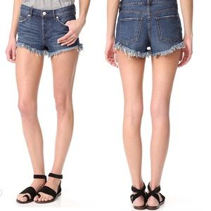 Like New Free People Relaxed Cut Off Shorts